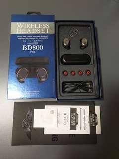 Hummingbird BD800 TWS Bluetooth Wireless Earbuds