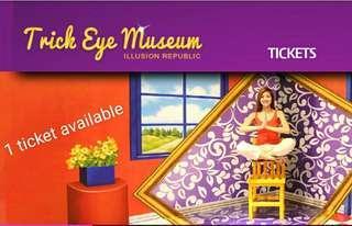🚚 Sentosa trick eye ticket