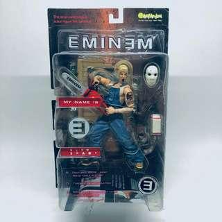 Art Asylum 2001 Eminem 'Slim Shady with Chainsaw' action figure
