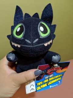 How to trajn your dragon toothless toy plushie
