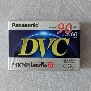 New PANASONIC 90-min mini dv tape x2
