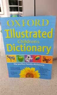 🚚 Oxford Illustrated Children Dictionary