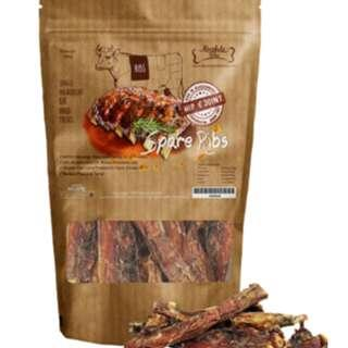 Absolute Bites 100% Real Veal Spare Ribs Dog Treats 150g