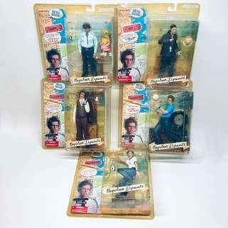 Mcfarlane Napoleon Dynamite figure Lot Complete Set of 5