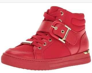 🚚 Aldo Stylish Red sneakers sz 35-36