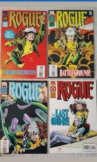 🚚 Marvel Comics Rogue Complete 4 Issue Mini-Series Near Mint Condition