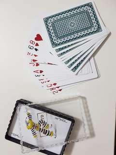 Waterproof poker cards