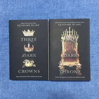 Three Dark Crowns and One Dark Throne (set only)