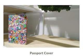 Tokidoki X Changi Airport Passport Cover