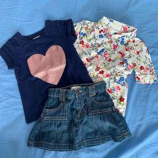 🚚 Old Navy Skirt Set