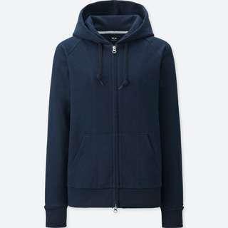 🚚 Uniqlo Navy Blue Hoodie
