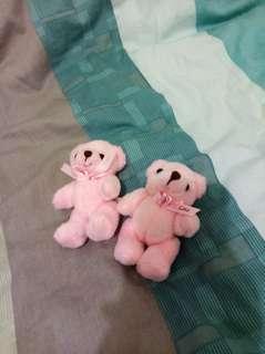 🚚 粉紅熊熊 娃娃 吊飾