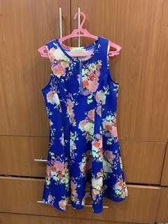 Spring Fling Sleeveless Dress