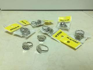 🚚 Adjustable Ring Backing (18 pc)