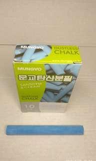 Kapur tulis warna Mungryo Korea warna biru