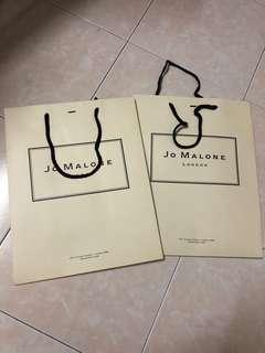 Jo Malone Paper Bag Large 2 units