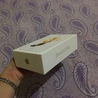 RUSH!! iPhone 6s Plus 128GB Gold (WITH 13 CASES NA)
