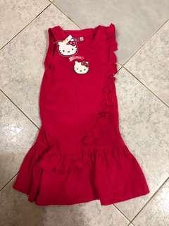 Hello kitty dress 2t