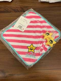 《💮日本直送》x-girl stages 奶嘴夾/毛巾夾 及毛巾