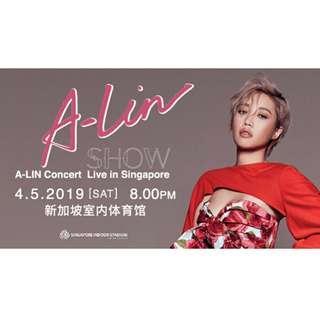 [CAT9] A-Lin Concert Ticket 2019