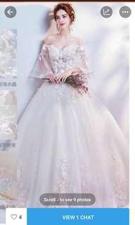 Preloved gaun pengantin