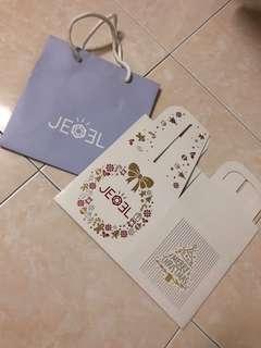 Jeoel Paper Bag and Box