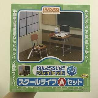 BNIB Nendoroid School Life A Set