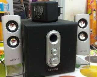 電腦喇叭 Advent Speaker