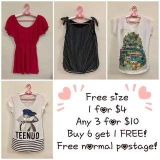 ❤️Any 3 for $10 - Free size (B4)