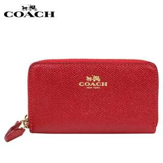 Coach Wallet COW0137 Red. 60% OFF Clearance Sales original price: MYR640!