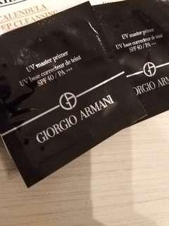 Giorgio Armani UV master primer 1ml x 2