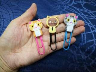 Cat design bookmarks