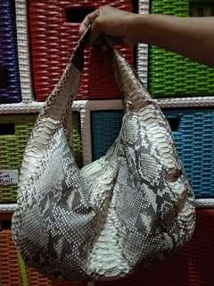 Hobo Bag Snake skin