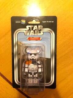 Bearbrick 100% star war sandtrooper