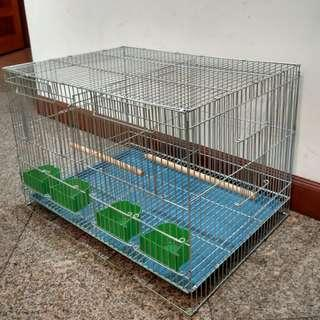 Brand New!   Galvanized Divider and Breeding Cage