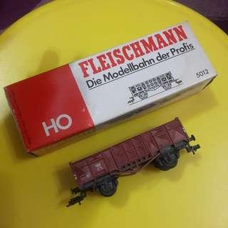 Vintage Fleischmann Goods Wagon HO Scale. NOS. Made in Germany.