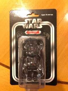 Bearbrick 100% darth Vader