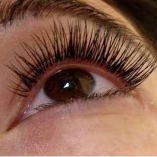 Eyelash Extensions @ $38 in Town
