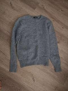 🚚 Vancl Light blue wool top