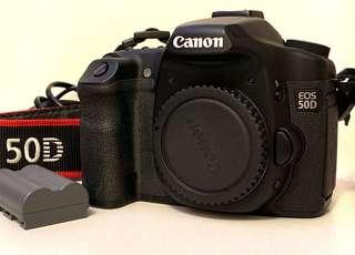 Canon 50D body used made in Japan