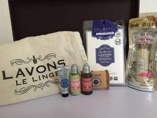 L'Occitane + 日本Lavons 套裝 福袋