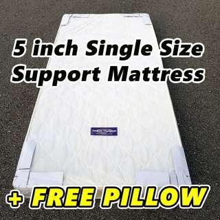 BN 5 inch Single Support Mattress