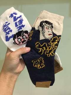 🚚 日系浮世繪個性長襪🌸🌸