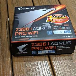 Gigabyte Aorus Z390-I PRO WiFi ITX Motherboard 3 Years Local Warranty