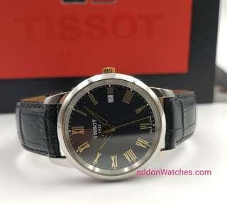 Tissot Classic Dream Black Gold Quartz Watch