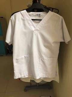 White Scrubs Small and X-Large Available
