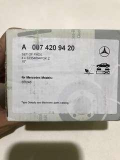 Mercedes spare parts for b180 w246