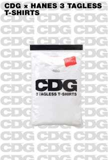 AUTHENTIC CDG Tagless Shirts