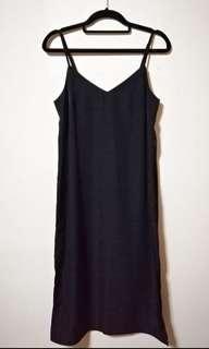 H&M midi dress Satin