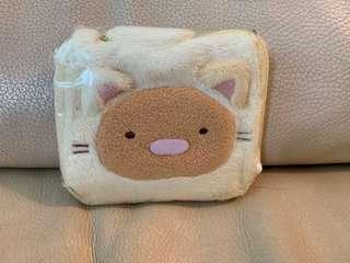 角落生物 貓咪 炸豬扒 銀包 散紙包 收納 小袋  wallet purse